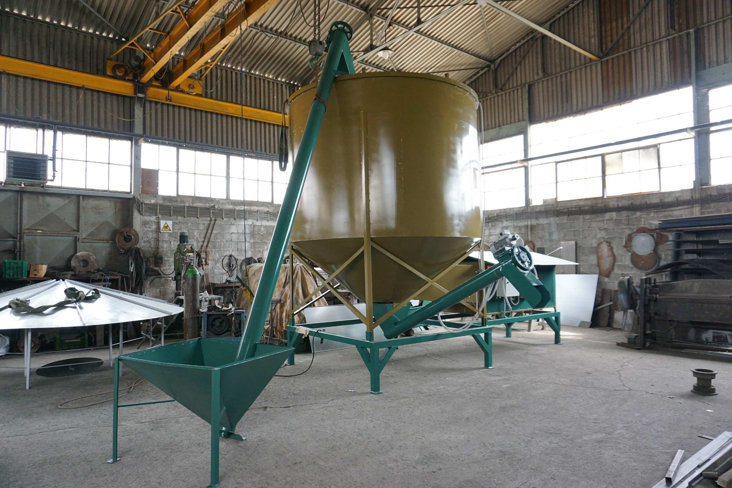dry nut silo dryer